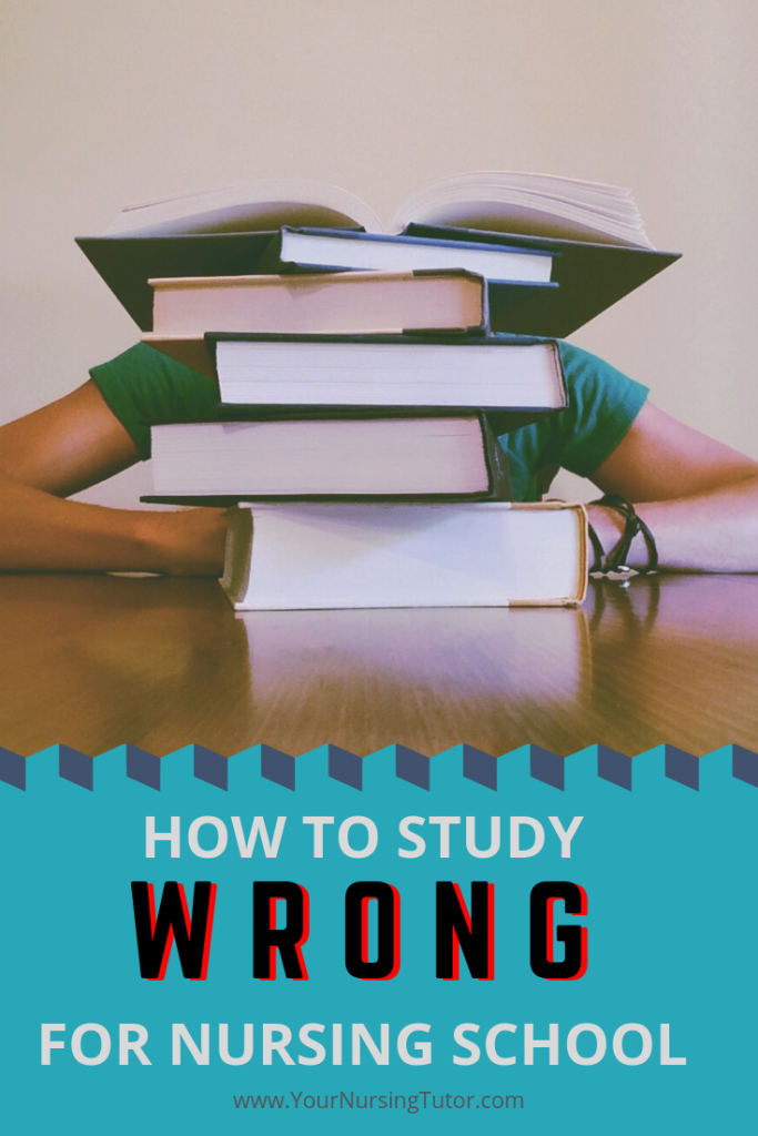 There's one simple reason why nursing students struggle all the way through nursing school, and many end up failing. It's simple...but it's not always easy! Click to find out more...