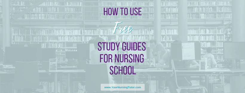 "Surviving nursing school is a LOT easier with free study guides and cheat sheets to help nursing students. Find out where to get the ""must have"" nursing study guides, and tips for how to use them most effectively."