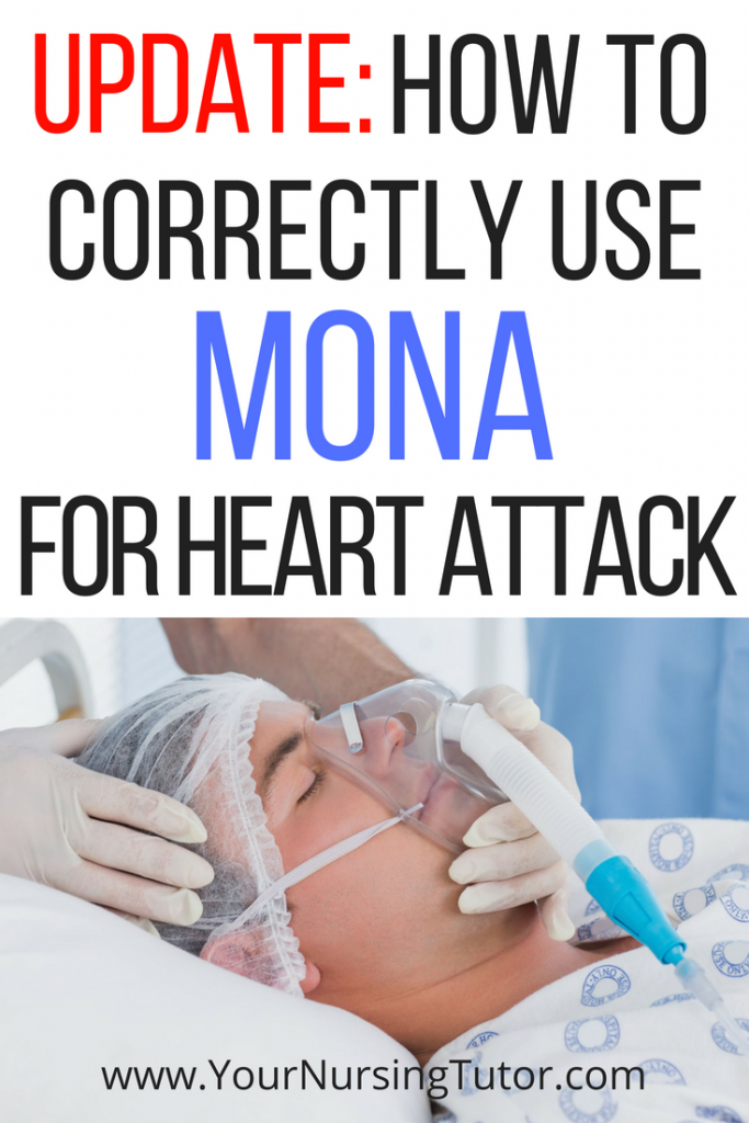 Every nursing student has heard of using MONA to remember heart attack treatments, but did you know that the recommendations have changed dramatically over the past few years? Find out how to apply current MONA interventions on NCLEX questions!