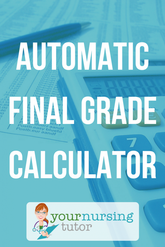 How do I calculate my final exam grade? Use an automatic final grade calculator! Easily does the math for you, all you have to do is enter your exam grades and the weighted percentages from your syllabus.