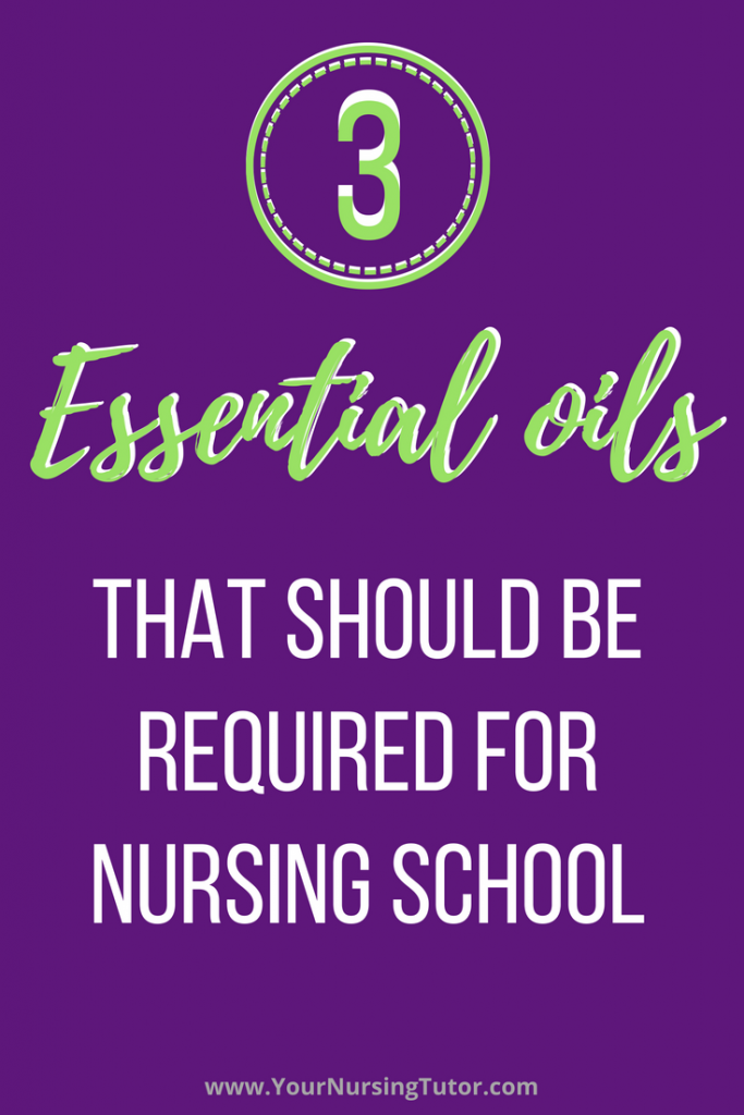 Find out which 3 easy-to-find, inexpensive essential oils are backed by research to help nursing students study more effectively, lower test anxiety, and improve sleep.